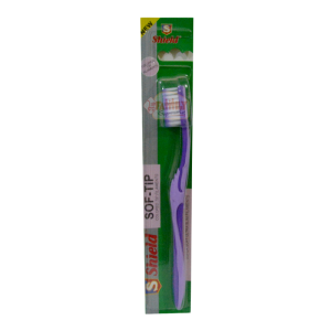 Shield Purple Soft Tip Tooth Brush