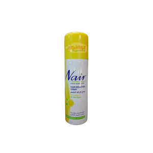 Nair Hair Remover Spray  Lemon For Silky Smooth Skin 200 ml