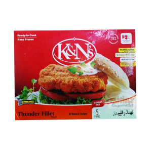 K&Ns Thunder Fillet Thigh 5 Pieces 550gm