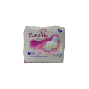 Butterfly Ultra High Absors Gel Extra Large 7 Pcs