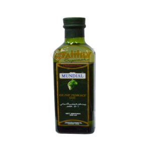 Mundial Olive Pomace Oil Bottle 500ml