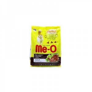 Me-O Cat Beef Flavor & Vegetable Adult 450 gm