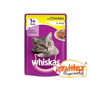 Whiskas Chicken  In Jelly 100 gm Pouch