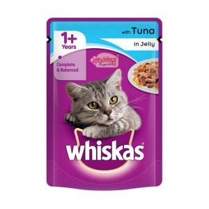 Whiskas Tuna In Jelly 100 gm Pouch