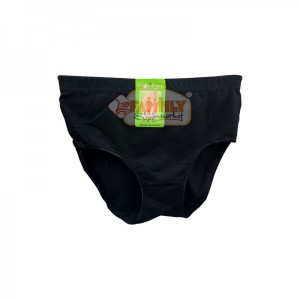Women Brief Black  Small