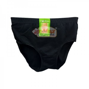 Women Brief Black  Medium