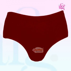 IFG Deluxe Brief Maroon Large