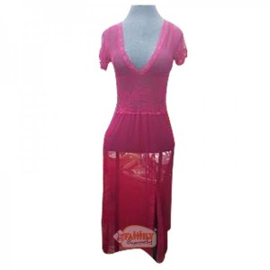 Women Long Nighty 2 Maroon 28
