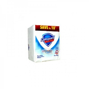 SAFEGUARD FAMILY PACK PURE WHITE 115 GM