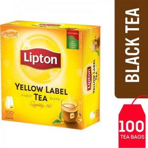 Lipton Yellow Label Tea Bags 100 Pcs
