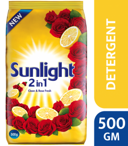 Sunlight Washing Powder Yellow