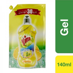 Vim Dish Wash Liquid  Value Pack 140 ml