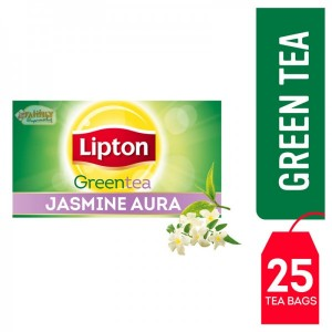 Lipton Green Tea Bag Jasmine Aura 25 Pcs