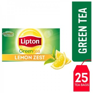 Lipton Green Tea Lemon Zest 25 Pcs