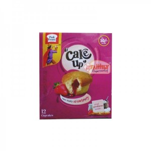Peek Freans Cake Up Fruity Strawberry Cup Cake 12 Pcs