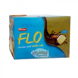 Bisconni FLO Chocolate Coated Vanilla Cake