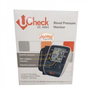 U Check Blood Pressure Monitor UC-4004