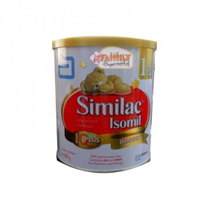 SIMILAC ISOMIL EYE PLUS MILK TIN 400 GM