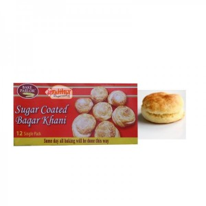 Bake Parlor Sugar Coated Baqar Khani 1 Pcs