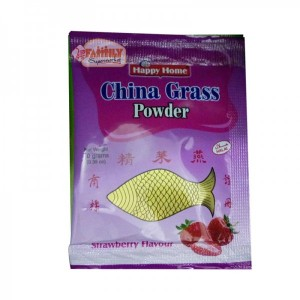 Happy Home China Grass Powder Strawberry