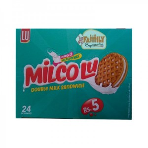 LU Milco LU Double Milk Chocolate Biscuit Ticky Pack