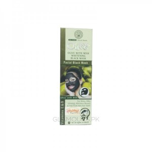 Skin Care Olive With Milk Whitening Black Mask 120 gm