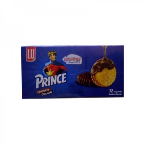 Prince 12 Ticky Pack Chocolate Coated