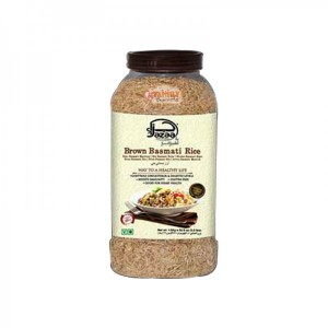Jazaa Brown Basmati Rice Jar