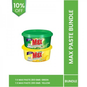 Max paste bundle (max paste 200gm yellow and green)