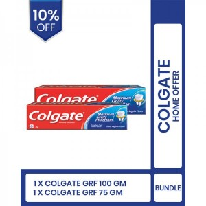 Colgate home offer (Colgate Grf 100gm and 75gm)