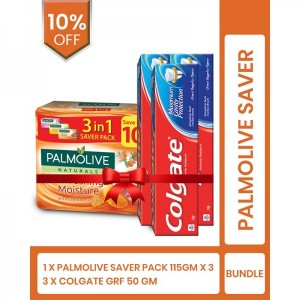Palmolive saver (Palmolive nat 3in1 saver pack and colgate grf pack of 3)