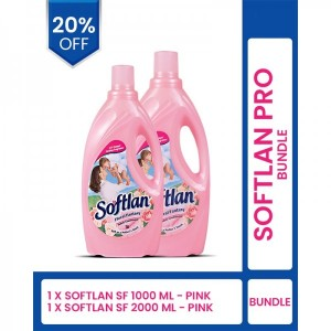 SOFTLAN FABRIC CONDITIONER BOTTLE PACK OF 2
