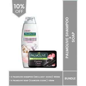 Palmolive Soap 115gm and Shampoo 180ml Pack of 2